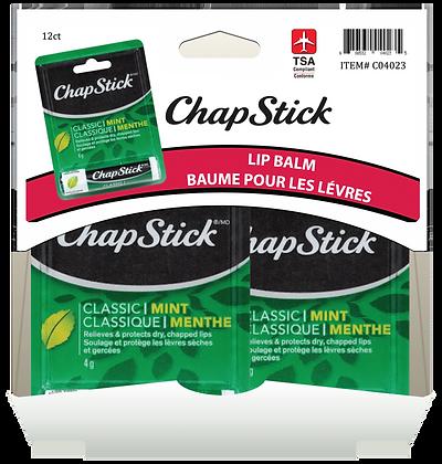 Chapstick Mint 4g, 12ct Gravity Pack