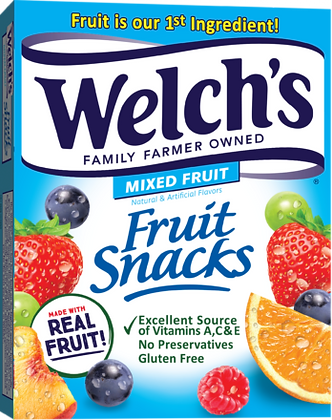 WELCH MIXED FRUIT SNACK 48X60 GR