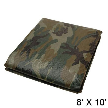 HARVEY TOOLS - TARP, 8' X 10', CAMOUFLAGE