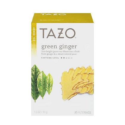 TAZO TEA GREEN GINGER 24 CT