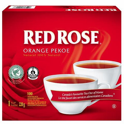 LIPT RED ROSE 4* 1 CUP ENV 100 CT