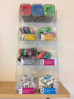 Phone Accessories Display