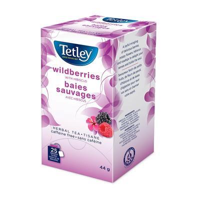 TETLEY TEA ENV WILDBERRIES 25 CT