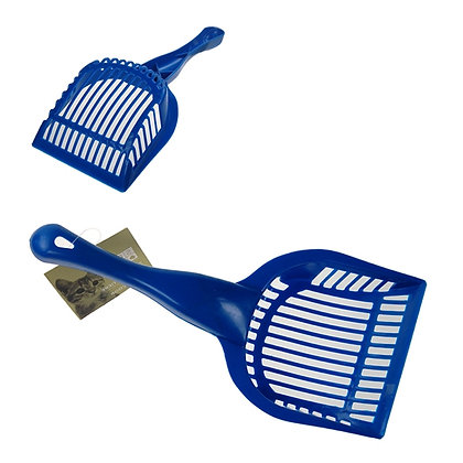 CAT LITTER SCOOPER, BLUE
