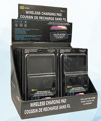 Anti-Skid Car Wireless Charging Pad