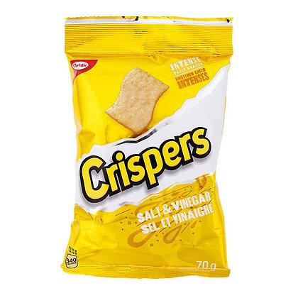 CRISPERS SALT & VINAGAR 12X70 GR