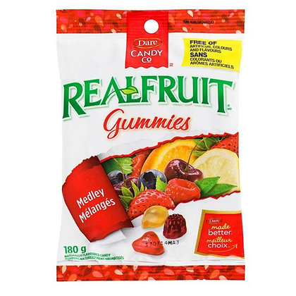 Realfruit Gummies Medley Naturally Flavoured Candy 180g