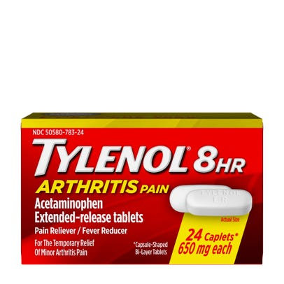 Tylenol Arthritis Pain Caplets Tablets 650mg 24ct