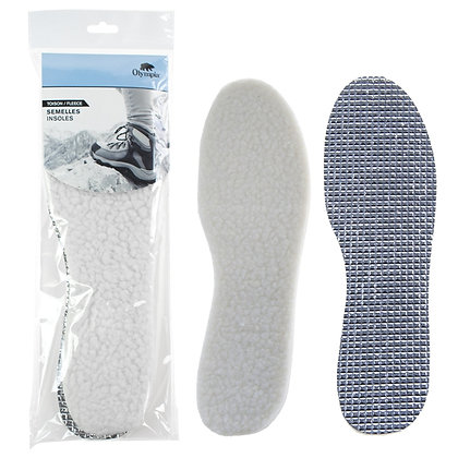 FLEECE INSOLES, CUT-TO-SIZE