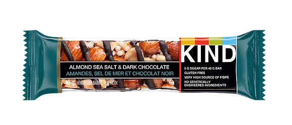 KIND BAR ALMOND DRK CHOC SEA 12X40 GR