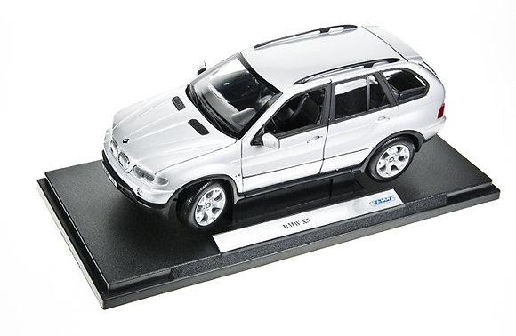 WELLY - 1:18, 2005 VW TOUAREG, SILVER