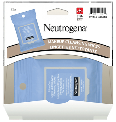 Neutrogena All in One Make-Up Wipes 7ea, 12ct Gravity Pack