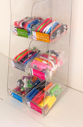 USB Cables Display (140pcs)