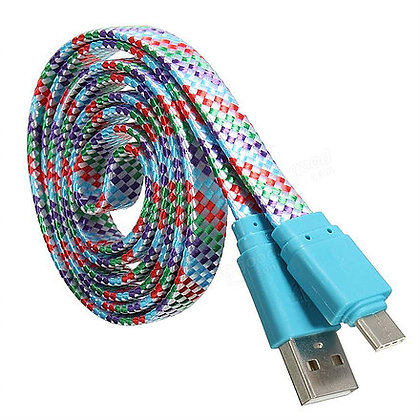 Wholesale Braided Type-C USB Cables 1 meter 3 feet