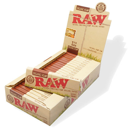 RAW RP ORG. HEMP 1 /1/4 X 24