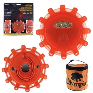 OLYMPIA - EMERGENCY FLARE LIGHT, 3 PACK