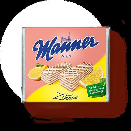 MANNER LEMON CREAM WAFERS 12X75 GR