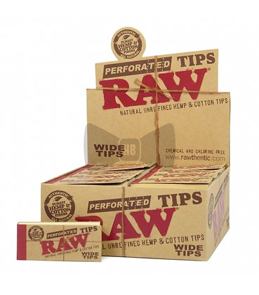 RAW TIPS WIDE X 50