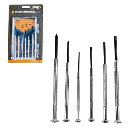 HARVEY TOOLS - 6PC PRECISION SCREWDRIVER SET