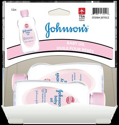 Johnson's Baby Oil Regular Scent 88ml, 12ct Gravity Pack
