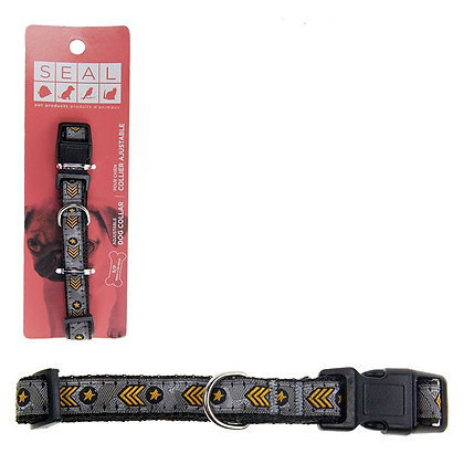 ARMY STYLE DOG COLLAR, SMALL