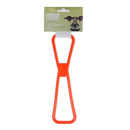 RUBBER PULLING TOY SMALL, RED