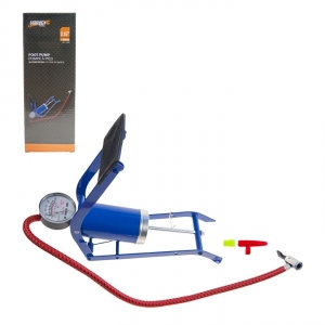 HARVEY TOOLS - FOOT PUMP ONE CYLINDER WITH GAUGE