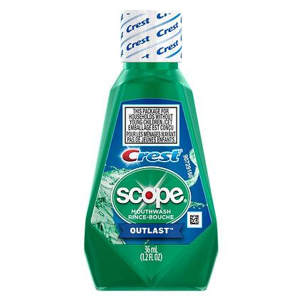 Crest Scope Outlast Mouthwash 36mL