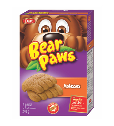 DARE BEAR PAWS MOLASSES 6X40 GR