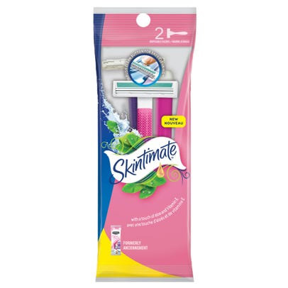 Skintimate Disposable Razors 2ct