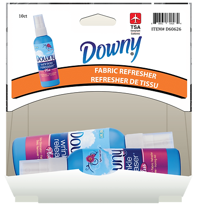 Downy Wrinkle Releaser Plus 90mL, 10ct Gravity Pack