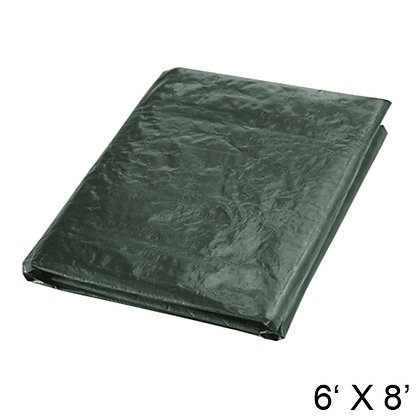 HARVEY TOOLS - TARP, 6' X 8', DARK GREEN