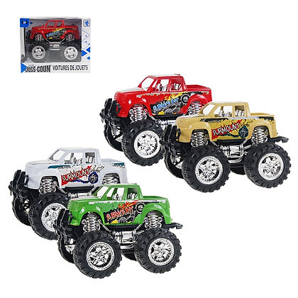 1/2 WHEELS - BIG WHEELS TRUCK, SMALL, IN 4 COLORS