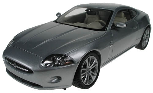 WELLY - 1:18, 2006 JAGUAR X150 COUPE, SILVER