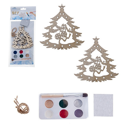 OLYMPIA CUBS - DIY CHRISTMAS TREE ORNAMENT, 2PCS SET