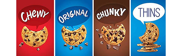 CHIPS AHOY ALL FLAV. 300G