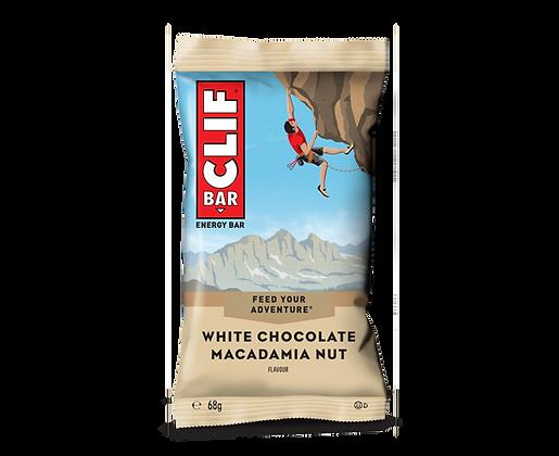CLIF BAR WHITE CHOC MACADAMIA 12X68 GR