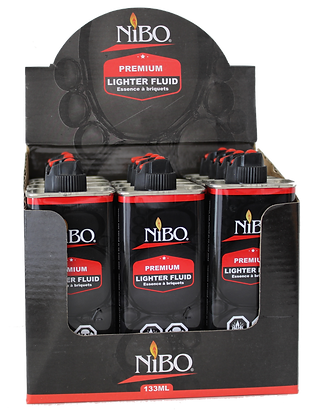 NIBO LIGHTER FLUID 133ml ESSENCE A BRIQUETS