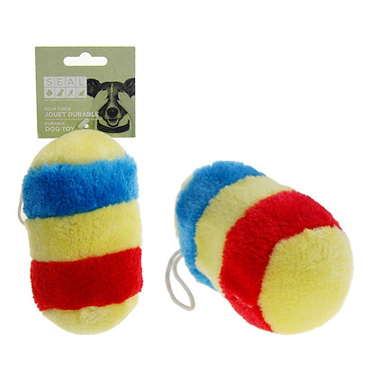 PLUSH SQUEAKY TOY, MULTICOLOR