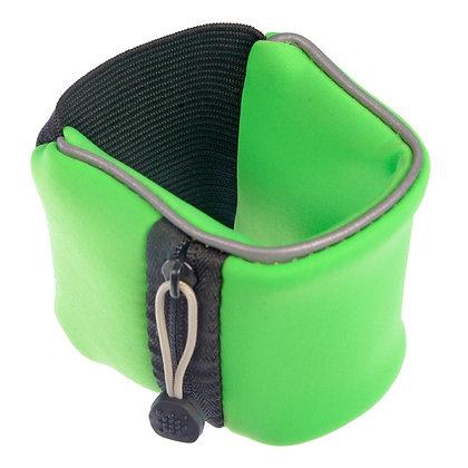Reflective Wrist Wallet (Green)