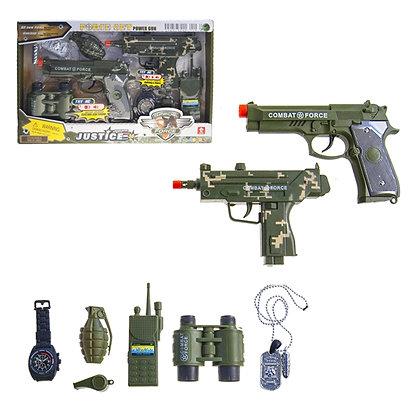 IPLAY - ARMY PLAY SET, GUNS WITH SOUND
