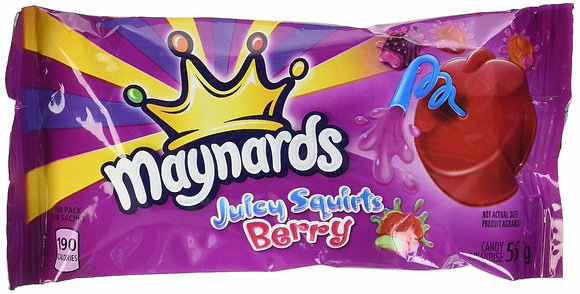 MAYNARD JUICY SQUIRTS BERRY 18X55 GR