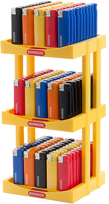 Ronson 50 packs Lighter Display
