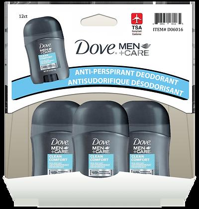 Dove Men+Care Antiperspirant 14g, 12ct Gravity Pack