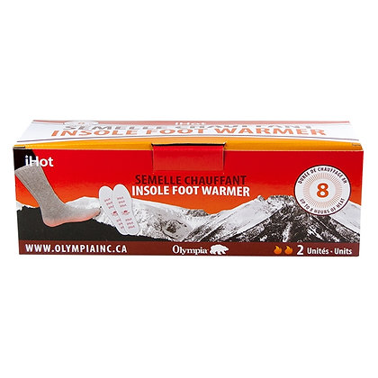 INSOLE FOOT WARMER, 16 PCS DISPLAY