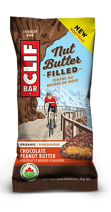 CLIF NUT BUTTER FILLED CHOC PB 12X50 GR