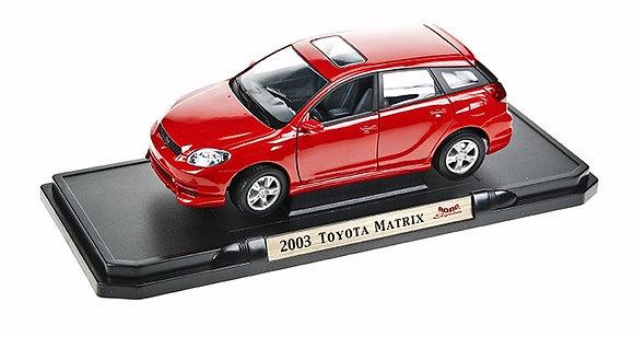 ROAD LEGEND - 1:18, 2003 TOYOTA MATRIX (XR), RED