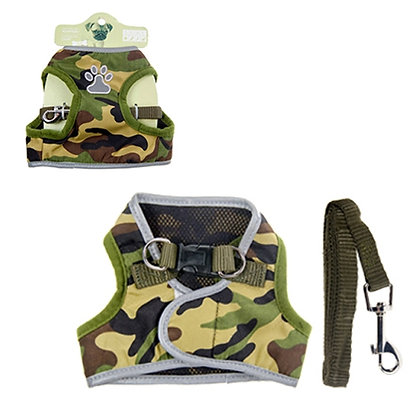 2 PC SET - JACKET W/HARNESS AND LEASH (MED)