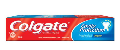 Colgate Cavity Protection Regular Fluoride Toothpaste 60mL