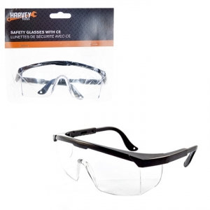 HARVEY TOOLS - SAFETY GLASSES WITH CE